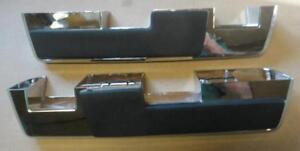 Mopar 64 66 A B C Body Front Armrest Pads And Bases New