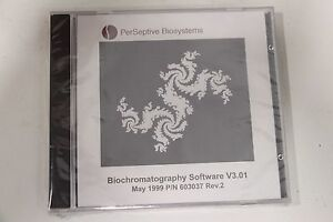 Perseptive Biosystems Biochromatography Software V3 01 New Factory Sealed