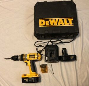 Dewalt Dc988 Heavy Duty 18v 1 2 Xrp Hammer Drill With 2 Batteries And Charger