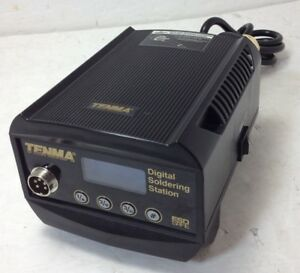 Tenma 21 10115 Compact Digital Soldering Station Only Used Tested Working