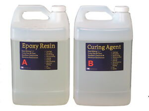 Crystal Clear Bar Table Top Epoxy Resin Coating Wood Tabletop 2 Gallon Kit