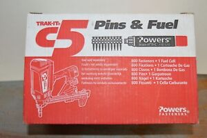 New Powers Trak it C5 55326 3 4 Metal Track To Steel Pins With Fuel Cell Gas