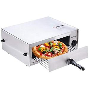 Pizza Oven Stainless Steel Maker Machine Baker W Snack Pan Maker Counter