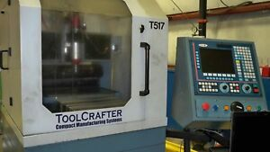 Toolcraft Cnc Mini Milling And Precision Engraving Machine With Tool Changer