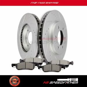 Front Brake Rotors Ceramic Pads For 2003 2006 Lincoln Navigator Ford Expedition
