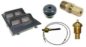 1968 1969 Camaro Console Guage Package Kit With Senders Oil Line