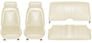 1969 Camaro Coupe Standard Interior Seat Cover Kit Oe Quality White