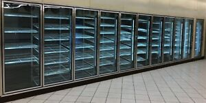 Commercial Cooler freezer Glass Door Reach In