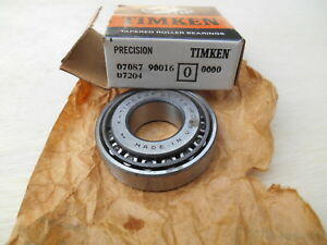 Timken 07087 90016 Matched Tapered Roller Bearing