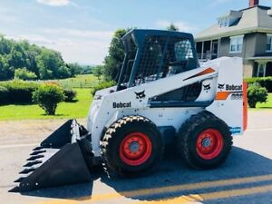 Bobcat 863 Skid Steer Wheel Loader Tractor Bob Cat Tractor Diesel Engine We Shp