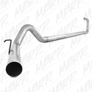 Mbrp 4 Turbo Back Exhaust No Muffler Fit 2003 2007 Powerstroke Ford 6 0l Diesel