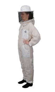 Humble Bee Fully Aerated Adult S Beekeeping Suit With Round Veil 421 s