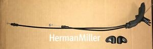 New Oem Herman Miller Classic Aeron Chair Seat Tilt Cable And Levers