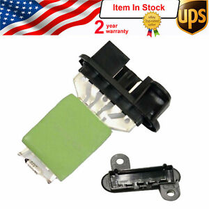 New Blower Motor Resistor Ac Heater Switch Control For 2001 2004 Chrysler V6 L4