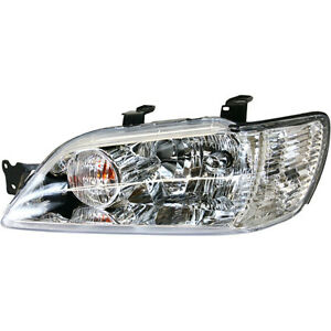 2002 2003 Fits Mitsubishi Lancer Lh Head Light Assembly