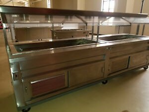 Buffet Food Hot cold Steam Table