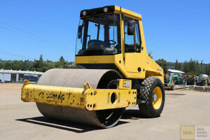 2013 Bomag Bw177dh 50 Smooth Drum Roller 66 700hrs Cab Heat air Clean Cummins