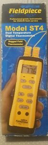Fieldpiece St4 Dual temperature Meter With 2 atb1 K Type Thermocouples New