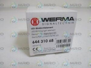 Werma 64431068 Led Blinking Light Element New In Box