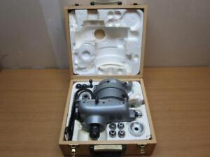 Volstro Rotary Milling Head For Bridgeport Style Milling Machine With R8 Taper