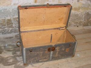 Antique Wooden Box Tool Chest Chest Wood Workshop Treasure Chest