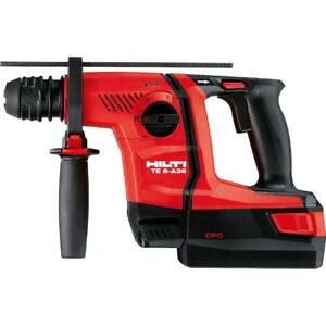 Hilti 1 2 Inch Sds Plus Cordless Rotary Hammer Te 6 a36 Tool Body 36v 36 Volt
