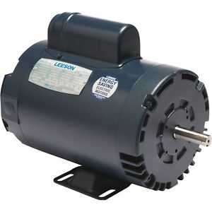 Leeson High pressure Washer Electric Motor 5 Hp 3450 Rpm 116709