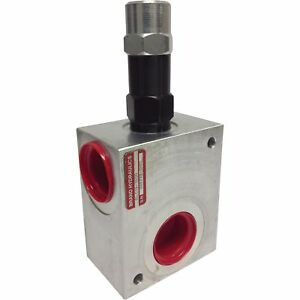 Brand Hydraulic In line Relief Valve 30 Gpm Flow Rate rlc12 2000