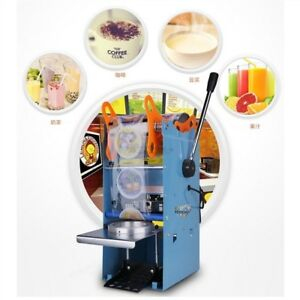 Sealing Machine New Drink Tea Cup Sealer Electric Automatic Plastic 270w Powe Kh