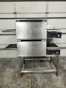 Lincoln Impinger 1103 Double Stack Conveyor Pizza Oven Tested 1 Phase 240v