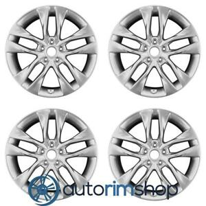 Hyundai Genesis Coupe 2013 2016 19 Factory Oem Staggered Wheels Rims Set