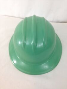 Bullard Adjustable 6 1 2 7 5 8 Liner Green Hard Plastic Hard Boiled Full Brim