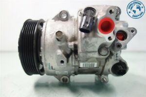 09 12 Toyota Rav4 2 5l A c Air Compressor Pump With Clutch 88310 0r014