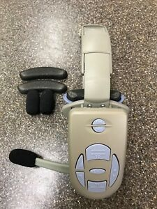 3m C960 drive Thru System Grey Headset With Blue Button