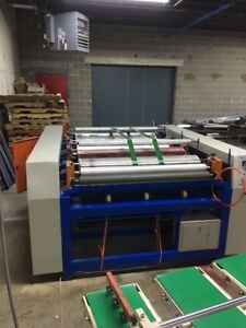 Flexographic Printing Press 4 color With Feeder