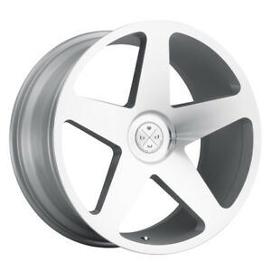 20 Blaque Diamond Bd15 Silver Concave Wheels Rims Fits Jaguar Xkr