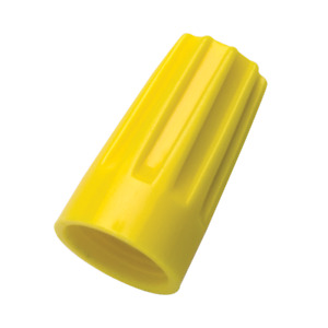 Ideal 30 074 Wire Nut 74b Wire Connector Yellow 100 Count