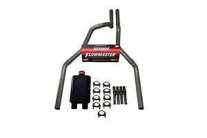 87 97 Ford F 150 Truck 2 5 Dual Exhaust Kit Flowmaster 40 Series
