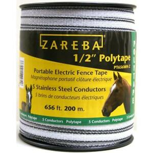 Polytape 1 2 Inch 200 M Industrial Livestock Supplies Fencing Agriculture New