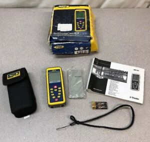 New Spectra Precision Laser Hd100 Advanced Handheld Laser Distance Meter