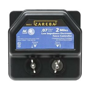Zareba 2 Mile Ac Line Energizer Electric Fence Control Charger Animal Fencing