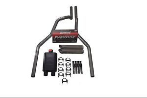 98 03 Ford F 150 2 5 Dual Exhaust Flowmaster Super 44 W Slash Tips