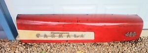 Farmall 400 Row Crop Right Side Hood Ihc Part Emblems