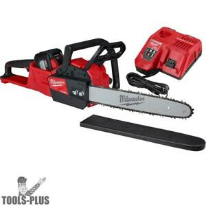 Milwaukee 2727 21hd M18 Fuel 16 Chainsaw Kit 12 0 Ah Battery Included New