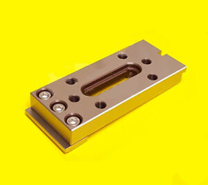 Wire Edm Fixture Board Stainless Jig Tool For Clamping And Leveling 120x50x15 Mm