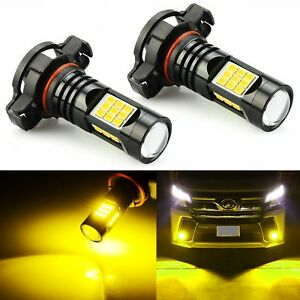 Jdm Astar 5202 Led Fog Light Bulbs For Chevrolet Silverado 1500 2008 2015 Yellow