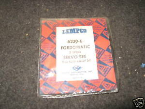 332 Ford Fordomatic Transmission Servo Seal Kit 1958