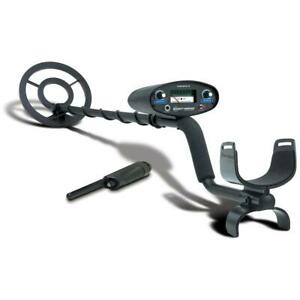Bounty Hunter Tracker Iv Metal Detector 8 Open Face Coil Pinpointer 6 5 Khz