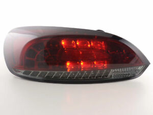 Red Smoked Led Tail Lights For Vw Scirocco Mk3 3 2008 2014 Nice Gift