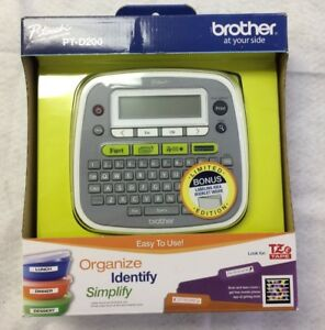 Brother P touch Label Maker pt d200 New